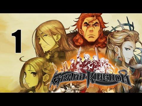 Grand Kingdom -  PS VITA / PS4 BETA Let's Play Walkthrough Playthrough Gameplay Part 1