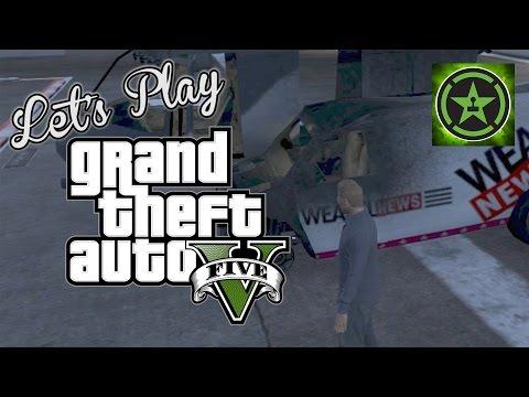 Let's Play: GTA V - Action News Teams Part 2