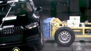 Crash Test Audi Q3 2012