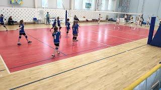 Турнир по волейболу среди девочек 2008-2009 в г. Кострома. Екатеринбург - Санкт-Петербург