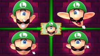 Mario Party 2 MiniGames - Mario Vs Luigi Vs Yoshi Vs Peach (Master Difficulty)