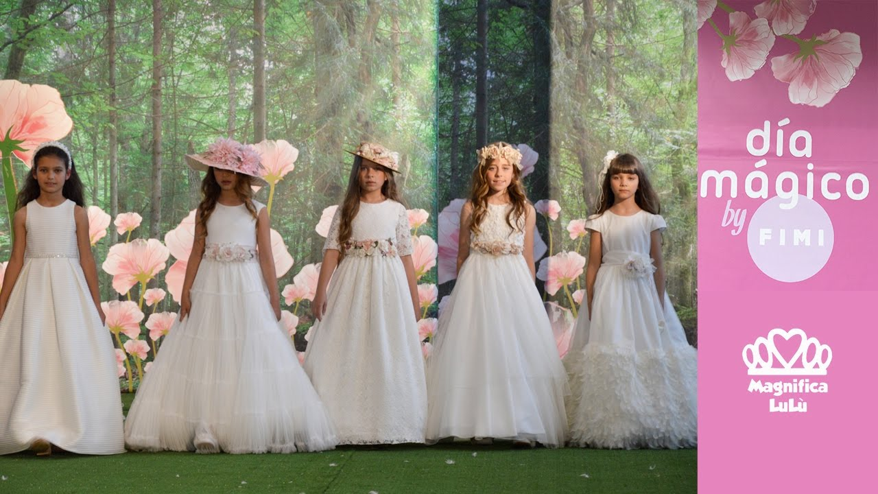 Vestidos de comunion lilus 2019