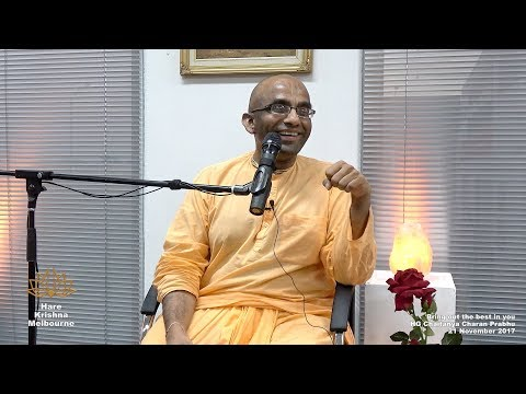 Bring out the Best in You - HG Chaitanya Charan Prabhu