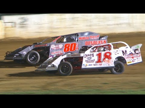 The RUSH Pro Mod Feature at Stateline Speedway (Busti, NY) on Saturday, August 31st, 2019! Results: Chad Carlson, Adam Ashcroft, C J Irons, Dennis Lunger ... - dirt track racing video image