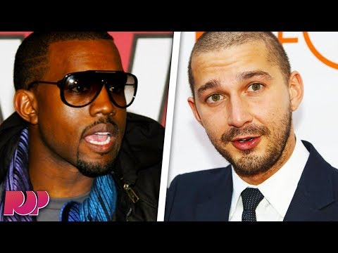 "Shia LaBeouf: Kanye West ""Took All My F**king Clothes"""