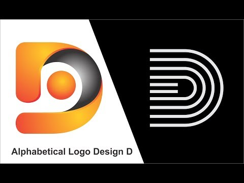 Alphabetical Logo Design D