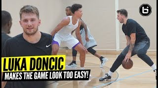Luka Doncic Shows Off SMOOTH Game At Pro Open Run! Monta Ellis Still a MAJOR BUCKET!!