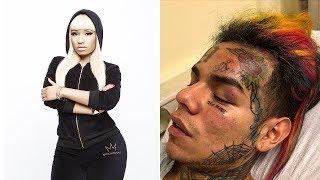 Tekashi69 Robbed by Nicki Minaj's Goons in Brooklyn