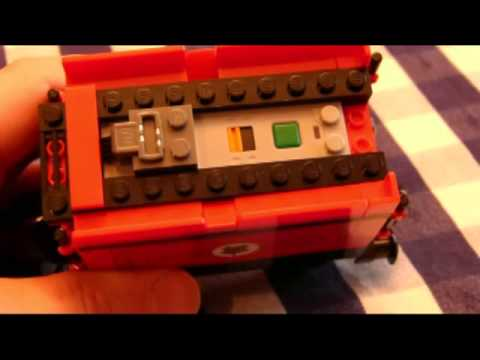 How To Motorize Lego Harry Potter Hogwarts Express Youtube