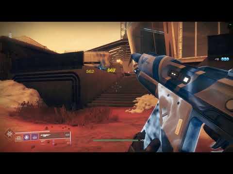 Destiny 2 - Mission: Mars [Warlock/Voidwalker Solo Gameplay] Part 2/3