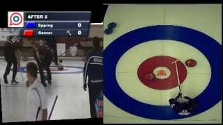 Cookstown Cash Curling: John Epping vs Peter Corner