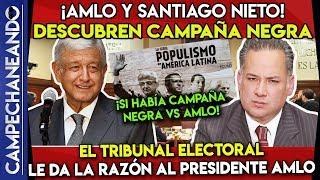DE ÚLTIMA HORA AMLO Y SANTIAGO NIETO ¡DESTAPAN CAMPAÑA NEGRA!