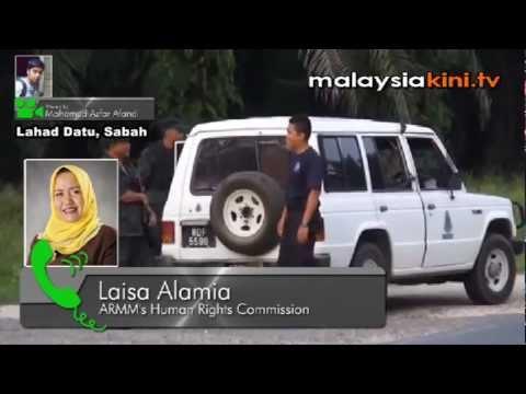 Filipinos flee Sabah amid Lahad Datu violence