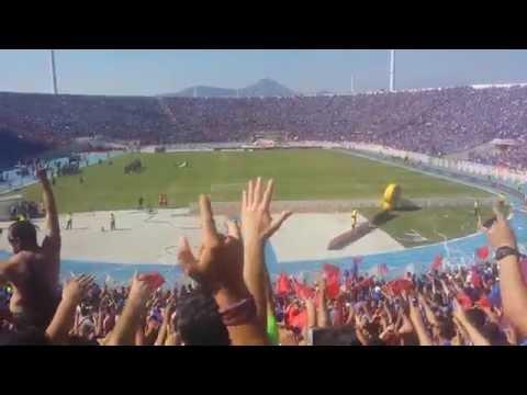 Salida U de Chile vs La Calera / Campeones 2014 / Los de Abajo