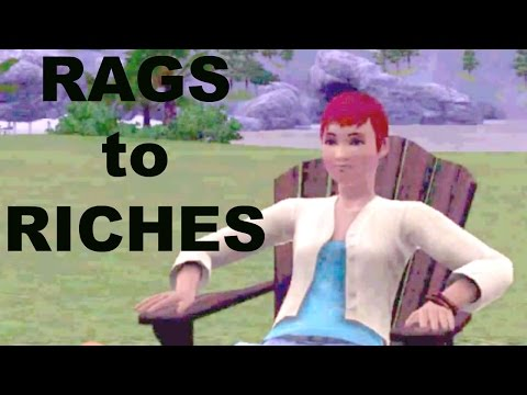 Sims 3 - Let's Play -Rags to Riches Challenge Part 1 | CQ76Gamer #CQ76