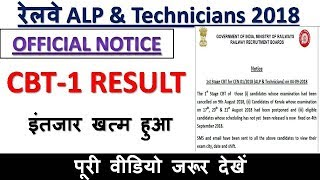 ALP & Technician CBT-1 Result इंतजार खत्म हुआ, CBT-2 Exam Date Expected -MD CLASSES