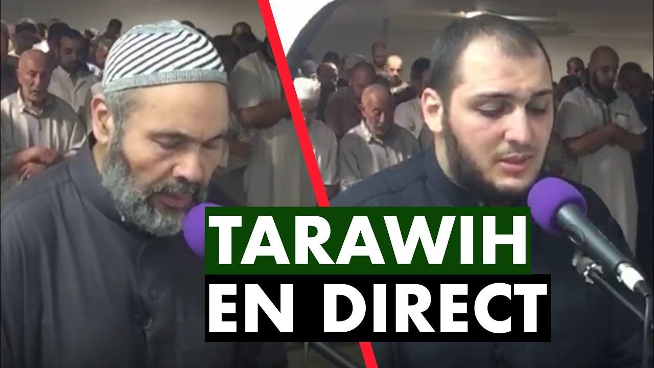 TARAWIH EN DIRECT - RAMADAN 2018 - IMAM BOUSSENNA