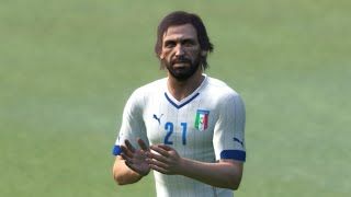 PES 2015 (PC) - Italy x Spain - Gameplay