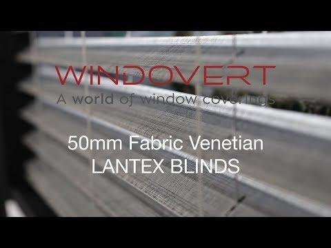 Windovert 50mm Lantex Fabric Venetian Blind