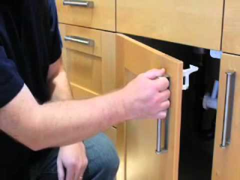 Baby Proof with the KidCo Spring Action Lock - YouTube