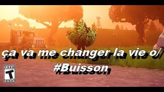 [PS4/FR] Fortnite #PVP, I love bushes!