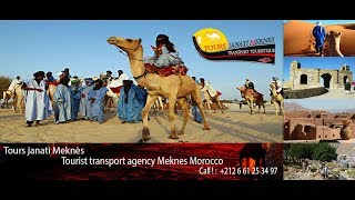 Tourist transport agency Meknes Morocco