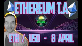 Ethereum (ETH) - Key Level$ -  ETH/USD April 8 Technical Analysis & Price Predictions