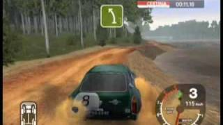 Repeat youtube video Colin McRae Rally 2005 - MGC Sebring - Australia Stage 8