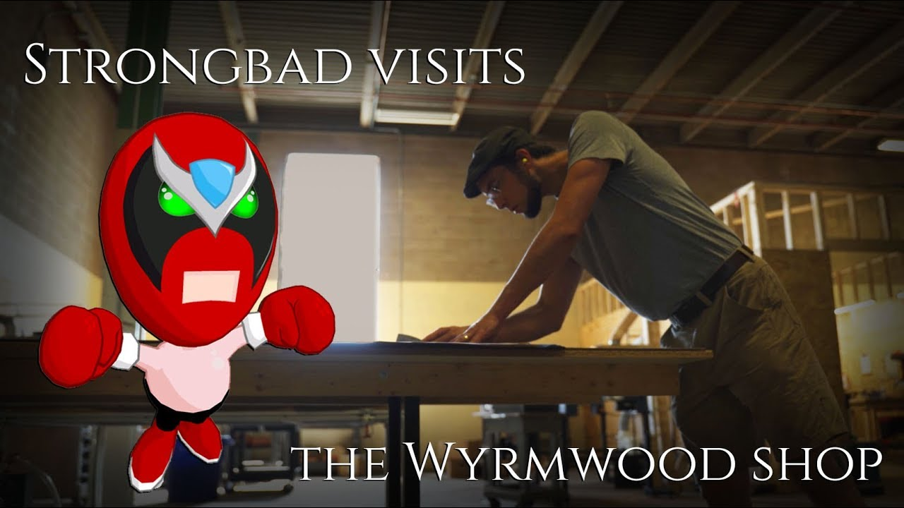 Strongbad Visits The Wyrmwood Shop!