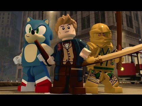 LEGO Dimensions - Fantastic Beasts Adventure World 100% Guide - All Collectibles