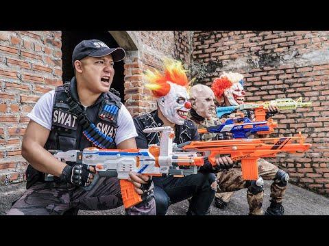 LTT Films : Special Mission Seal XXx Nerf Guns Fight Criminal Group Tiger Mask Nerf War