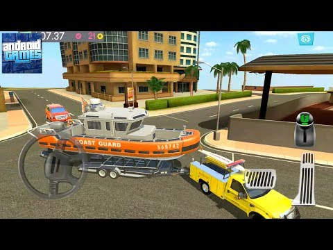 Detective Driver Miami Files - Chapter 5 Part 1 (Boat Transport) - Android Gameplay FHD