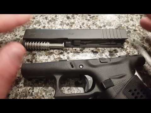How to disassemble a Glock 43.