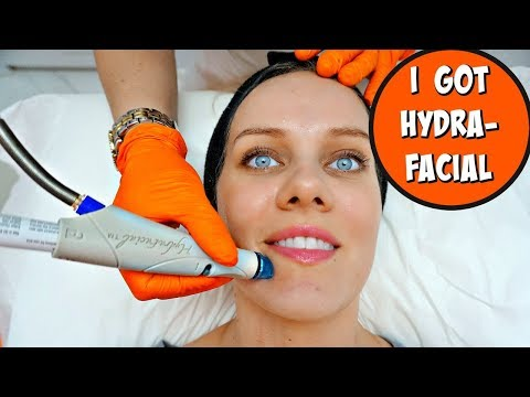 I TRIED HYDRAFACIAL FOR THE FIRST TIME + RESULTS