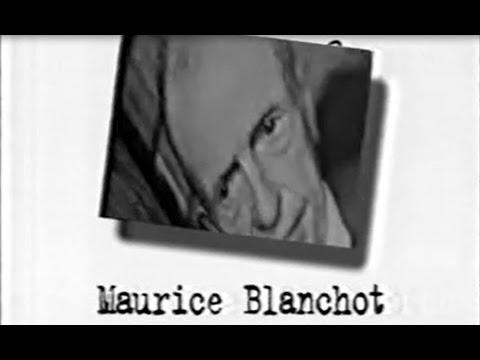 Un Siècle d'écrivains - Maurice Blanchot