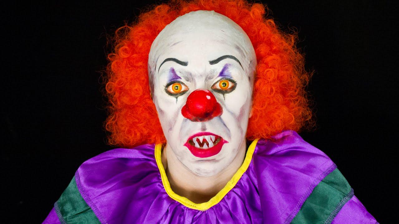 PAYASO ASESINO (It Clown) - Makeup FX - YouTube