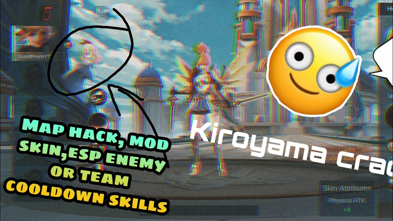[New] Mobile Legends Hack | Kuroyama Crack | No Keylog | MapHack,Mod Skin and more!