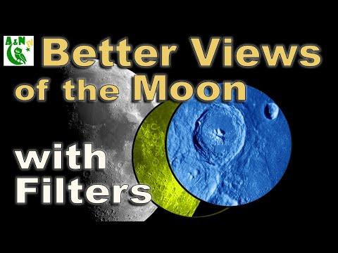 Filters - Enhancing Lunar Observation