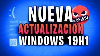 ⚠️ Ultima Actualización Windows 10 1903  / Mejor mira el vídeo! 🤬