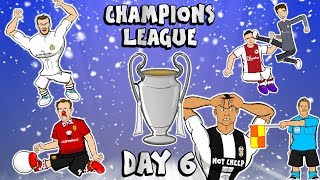 😲REAL LOSE!😲PHIL JONES OWN GOAL!😲MULLER RED CARD!😲RONALDO OFFSIDE DYBALA!😲(UCL Goals Highlights)