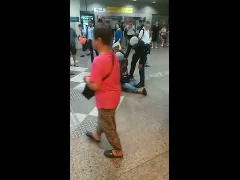 Man Arrested By Police At Lavender MRT Station