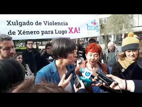 Ana Pontón reclama un xulgado de violencia de xénero para Lugo