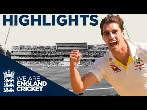Lyon Takes 6 As Australia Win Opener | The Ashes Day 5 Highl