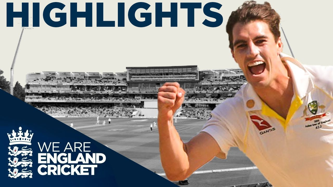 The Ashes Day 5 Highlights | First Specsavers Test 2019