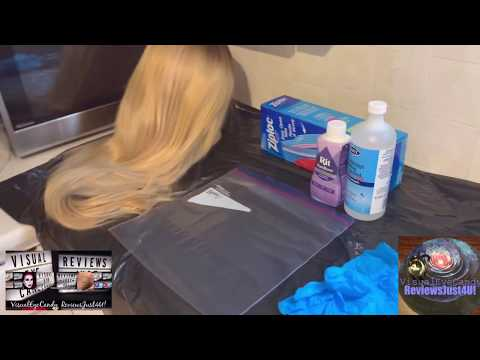My Personal Experience On Toning A Blonde Synthetic Wig