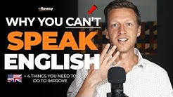 You Will NEVER Speak English Fluently Unless You Do This