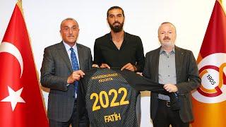 İkinci başkanımız Abdurrahim Albayrak ve yeni transferimiz Fatih Öztürk'ten açıklamalar