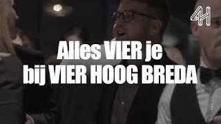 Vier je eigen feest bij Vier Hoog Breda