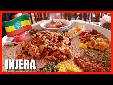 EATING ETHIOPIAN FOOD W/ BUNA MUKBANG +  AMHARIC LESSON