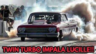 Larry Baker vs Dixieland blown Corvette at Red 13 no prep thumbnail